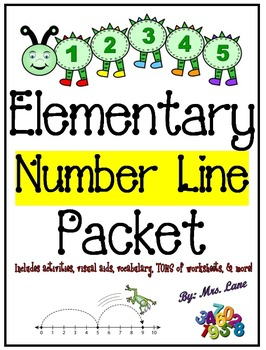 Elementary Number Line Packet (JAM-PACKED!)
