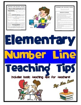 Elementary Number Line Teaching Tips