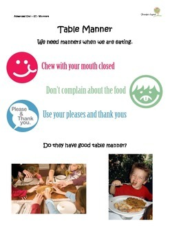 Elementary Oral - 01 - Manner