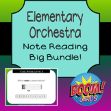 Elementary Orchestra - Note Reading Boom Card Big Bundle