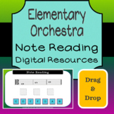 Elementary Orchestra - Note Reading Drag & Drop Bundle