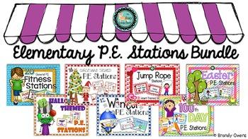 Elementary P.E. Stations Bundle