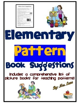 Elementary Pattern Book Suggestions