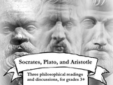 Elementary Philosophy: Discussing Socrates, Plato, and Aristotle