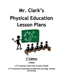 Physical Education Lesson Plans 1st Edition