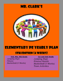 Elementary Physical Education Lesson Plans 2015-2016 5th Edition