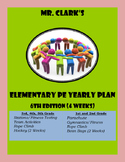 Elementary Physical Education Lesson Plans 2015-2016 6th Edition