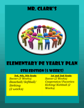Elementary Physical Education Lesson Plans 23rd Edition
