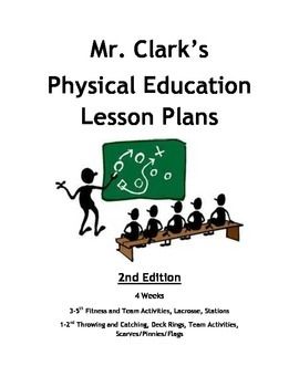 Physical Education Lesson Plans 2nd Edition