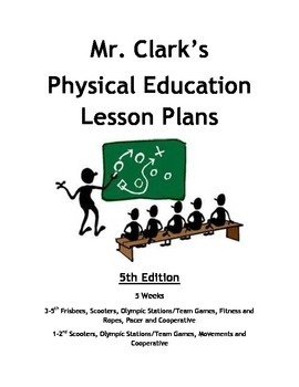 Physical Education Lesson Plans 5th Edition
