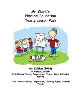 Physical Education Lesson Plans 14th Edition