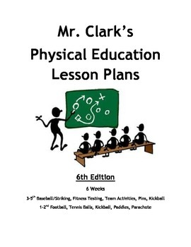 Physical Education Lesson Plans 6th Edition