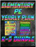 Elementary Physical Education Yearly Plan 2 and 7 Bundled Curriculum