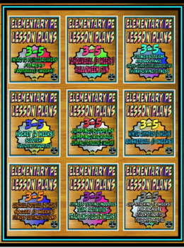 Elementary Physical Education Yearly Plan 6 3rd-5th Edition