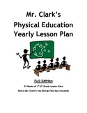 Physical Education Yearly Plan 1 w/ Top Selling Field Day