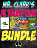 Elementary Physical Education Yearly Plans Bundle