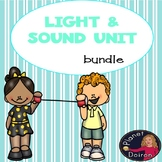 Physical Science Sound and Light Unit bundle Low and No Prep