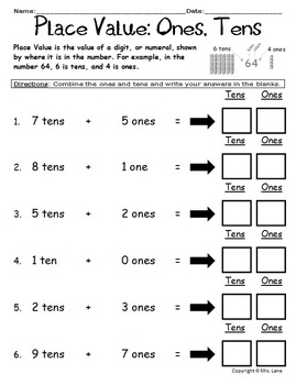 Elementary Place Value Worksheets