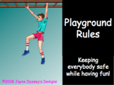 Elementary Playground Rules