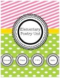 Elementary Poetry Unit