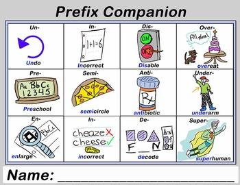 Prefix Handout and Companion Bundle