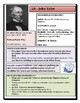 Elementary - Presidential Profiles: John Tyler AND FREE Map Activity