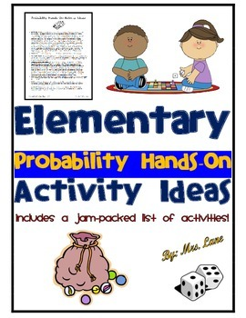 Elementary Probability Hands-On Activity Ideas