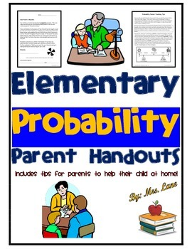 Elementary Probability Parent Handouts (Help at Home)