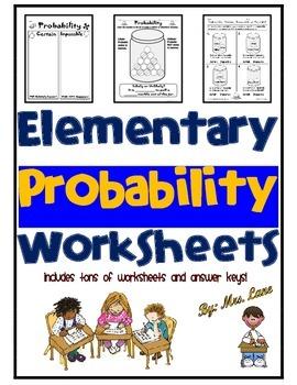 Elementary Probability Worksheets