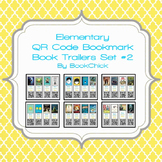 Elementary QR Code Bookmark Book Trailers Set #2