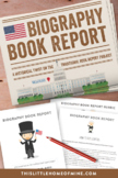 Elementary Reading & Social Studies - Biography Book Repor