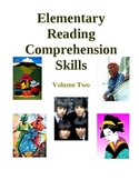 Elementary Reading Comprehension Skills - Volume Two, Activities and Worksheets