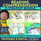 Elementary Reading Comprehension Strategies Bundle