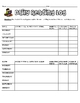 Elementary Reading Logs Packet (Includes Reading Log Tic-Tac-Toe!)