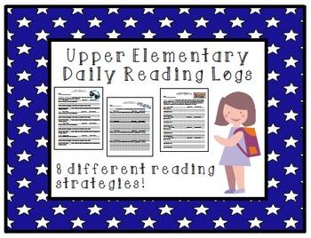 Elementary Reading Logs & Reading Strategies