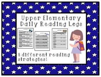 Elementary Reading Logs & Reading Strategies