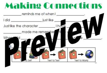 Elementary Reading Strategy Posters