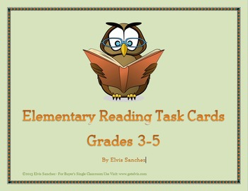 Elementary Reading Task Cards