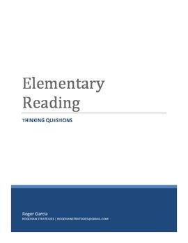 Elementary Reading - Thinking Problems