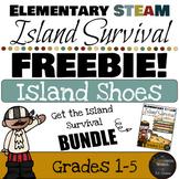 Elementary STEaM Pirate Challenge FREEBIE - Island Survival - Designing a Shoe