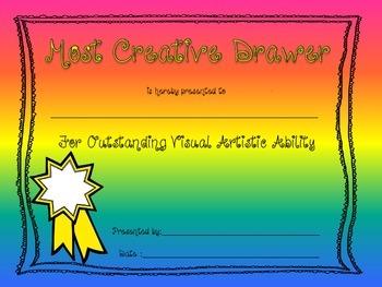Elementary School Awards and Superlatives