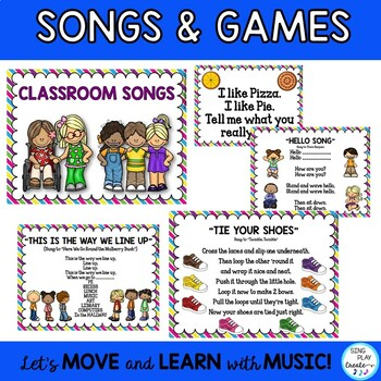 Elementary Classroom Management Songs, Games, and Rules K-3: Back to School