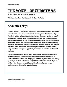 Elementary School Christmas Concert- The Voice of Christmas