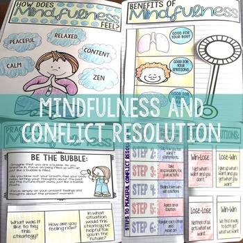 Elementary School Counseling Interactive Notebook Part II Social Emotional INB