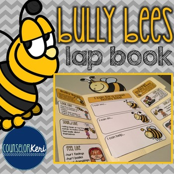 Elementary School Counseling Lap Book: Bullying Prevention