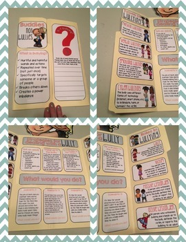 Elementary School Counseling Lap Book: Bullying Prevention for Upper Elementary
