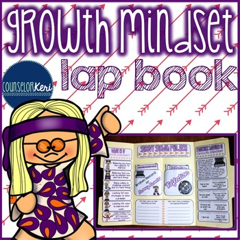 Elementary School Counseling Lap Book: Growth Mindset