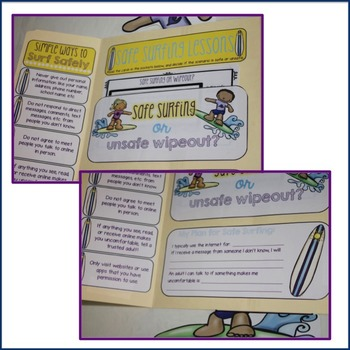 Elementary School Counseling Lap Book: Internet Safety
