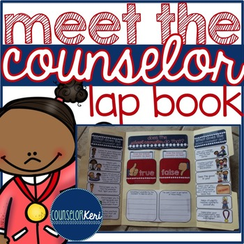 Elementary School Counseling Lap Book: Meet the Counselor