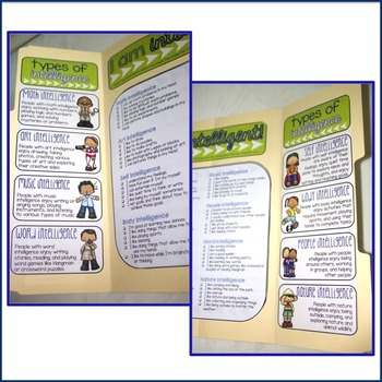 Elementary School Counseling Lap Book: Multiple Intelligences